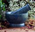 WORTCRAFT Green Stone Mortar and Pestle