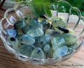 "PREHNITE with Epidote ""The Healer's Stone"" Tumbled Gemstone"