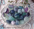 RAINBOW FLUORITE Tumbled Gemstone