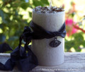 "EVIL EYE REMEDY ""Gray Witch's Magic"" ""Old European Witchcraft"" Pillar Candle w/ Evil Eye Amulet"