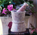 APOTEKARE Traditional Apothecary Soapstone Mortar & Pestle
