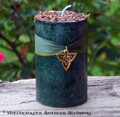 "DRUNEMETON Nine Sacred Woods ""Celtic Germanic Lights"" Pillar Candle"