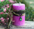 AUSTRŌ Old European Goddess of Spring Pillar Candle