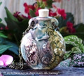 SEAHORSE Ceramic Bead Pendant Oil Bottle Necklace