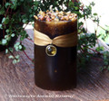 OLD WORLD AMBER Jewel Charmed Pillar Candle