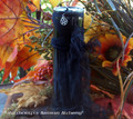 BLACK CAULDRON BREW Signature Scent Elegantly Witchy Vigil Jar Candle