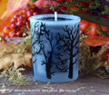 BLACK CAULDRON BREW Signature Scent Haunted Forest Edition Votive Container Candle