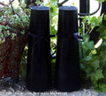 BLACK SABBATICA Altar Candle Set w/ Dragon's Blood