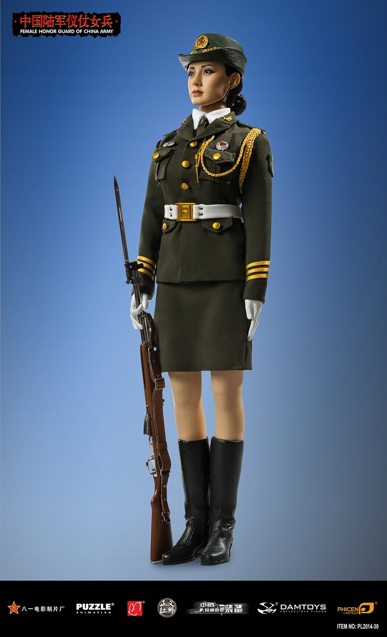 Pl 2014 30 Phicen Limited Female Honor Guard From China Army 16 1 6 Scale Figure Boxed Set