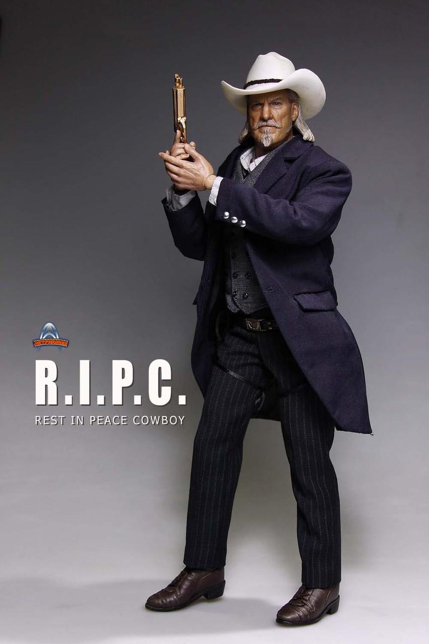 Af 017 Artfigures R I P C Rest In Peace Cowboy Boxed