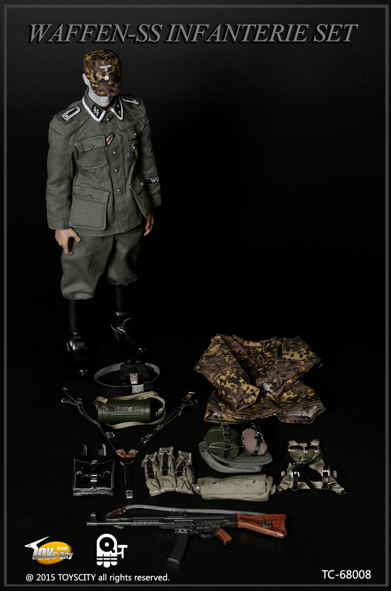 [TC-68008] Toys City WWII German Waffen-SS Infanterie Set ...
