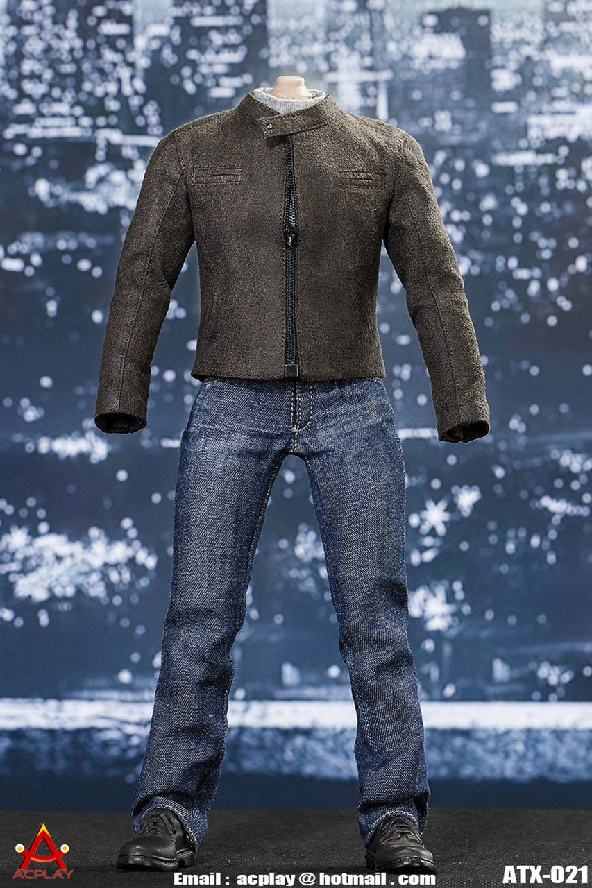 Ap Atx021 Acplay American Leader Leather Jacket For 1 6