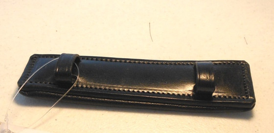 Leather Chin Pad/Curb Chain Cover