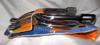 "Metalab 2"" stainless Swan Neck Spur"