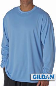 Gildan Cotton Long Sleeve T-Shirt 3XLLight Blue #420