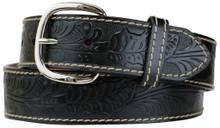 big men's western belt removable buckle