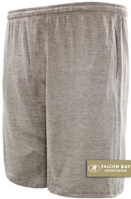 Gray Falcon Bay Cotton Jersey Shorts