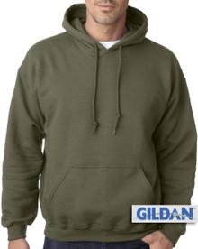Gildan Pullover Hoodie Olive 3XL 4XL 5XL  #373
