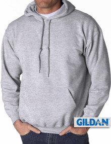 Gildan Pullover Hoodie Gray 3XL 4XL 5XL  #372