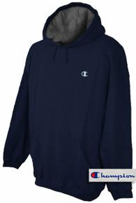 Champion Pullover Hoodie Sweatshirt Navy 3XL #691D