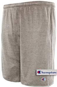 Heather Gray Champion Lightweight Cotton Jersey SHORTS