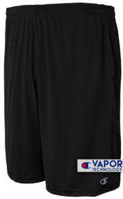 Champion Vapor Tech Athletic Shorts Moisture Wicking Black 6XL #675A