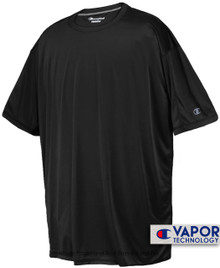 Champion Vapor Tech Athletic T-Shirt 4XL 5XL 2XLT 3XLT Black #680A
