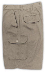 harbor bay khaki continuous comfort shorts