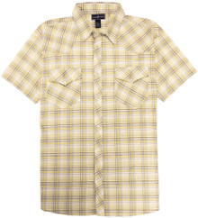Western Plaid Shirt YELLOW