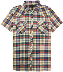 Western Plaid Shirt MULTI-COLOR