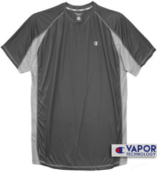 Big & Tall Men's Vapor Performance T-Shirt Charcoal Gray
