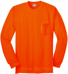 mens big and tall orange 3X