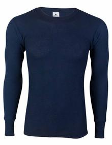 Navy Thermal Long Johns Underwear SHIRT