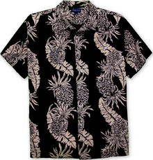 Black tropical shirt by Foxfire