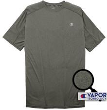 heather charcoal champion vapor t-shirt