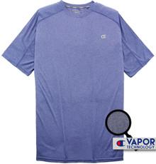 heather royal blue champion vapor t-shirt