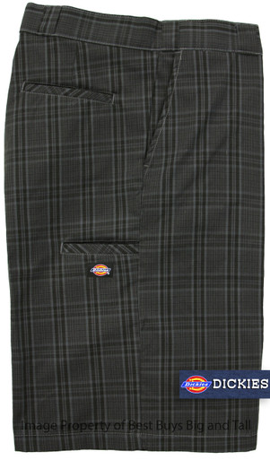 Dickies Gray Plaid Shorts