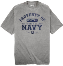 NewportXL Big & Tall T-Shirt Property of United States Navy