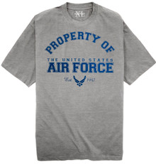 United States Air Force T-Shirts for big and tall by NewportXL