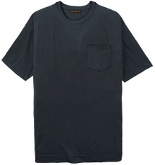 Big Tall Men's NAVY Pocket T-Shirt by Cotton Traders