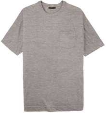 big men clothing Heather Gray Pocket T-Shirt 3X