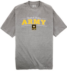 U.S. Army print t shirt for big and tall