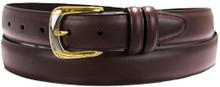 big men's brown dress belt by marc wolf