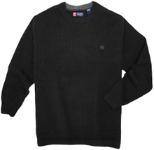 Crewneck Sweater by Chaps BLACK