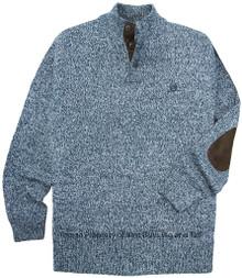 Blue Chaps Mockneck Twist Sweater