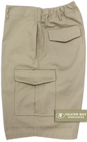 Sand Falcon Bay Cargo Shorts Expandable Waist