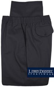 LD Sport Casual Twill Pants - Full Elastic Waist NAVY