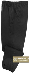 Black Falcon Bay Big Men's Fleece Sweat Pants