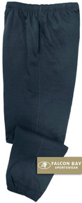 Navy Falcon Bay Big Men's Fleece Sweat Pants