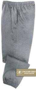 Gray Falcon Bay Big Men's Fleece Sweat Pants